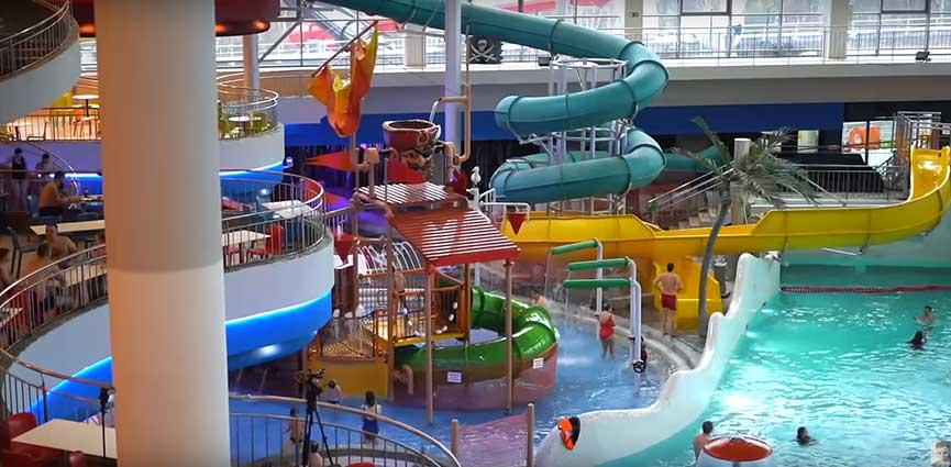 Аквапарк и банный комплекс в Москве - Мореон