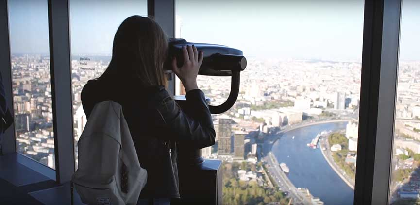 Панорама 360 Москва Сити