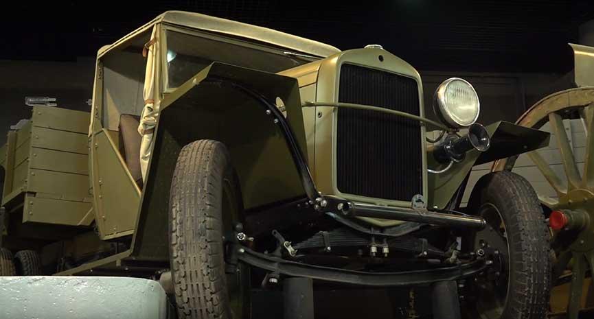 Моторы войны в Музее Победы