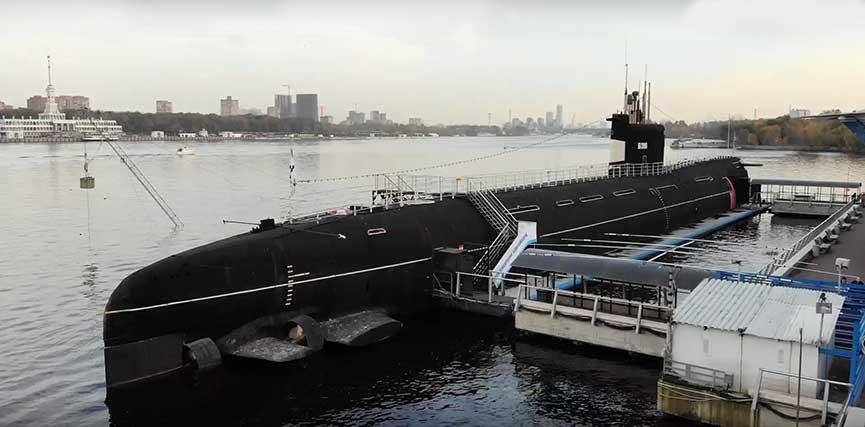 музей подводная лодка Б-396