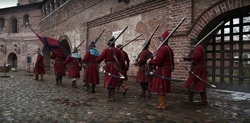 Музей ратной истории Москвы стрельцы